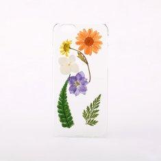 Pressed flower & leaf phone case for iPhone or Samsung