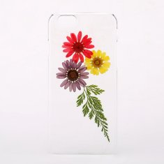 Pressed flower & leaf phone case for iPhone & Samsung