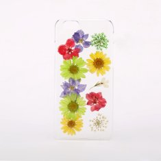 Pressed multi flower phone case for iPhone & Samsung