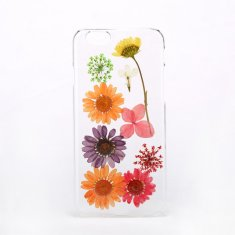 Pressed flower clear phone case for iPhone & Samsung