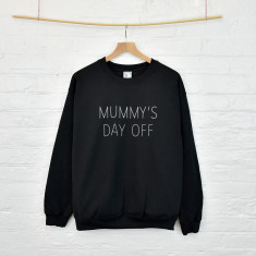 Day off personalised sweatshirt jumper