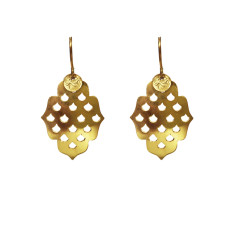 Screen Goddess Small Earrings - Gold