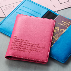 Special Memories Couple's Pair of Passport Covers