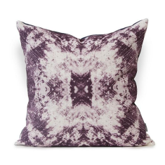 Maguety Urban Aztec Cushion Cover in Imperial Purple