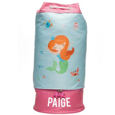 Personalised Beach Bag - Mermaid