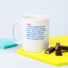 Personalised Daddy's Dictionary Definition Mug