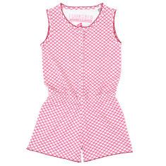 Girls' Phoebe geometric jumpsuit