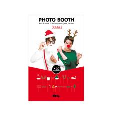 DOIY photo booth xmas props