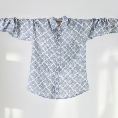Men's shirt in jodhpur blue