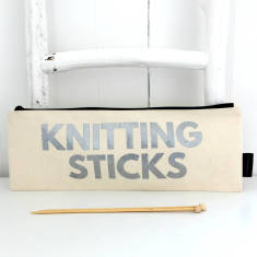 Knitting sticks knitting needle bag