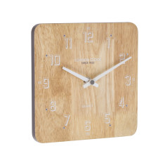 London Clock Company Flux Solid Wood Mantle & Table Clock