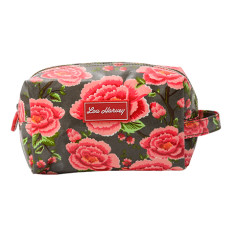 Box Cosmetic Bag in Alexandra Donkey