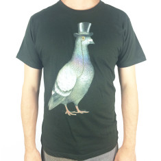 Mr pigeon men's artist tee