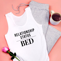 Relationship Status Bed Pyjamas