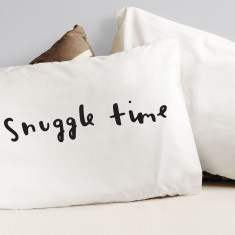Snuggle time pillowcase