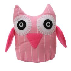 Pink stripe owl