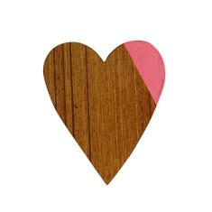 Pink heart magnet