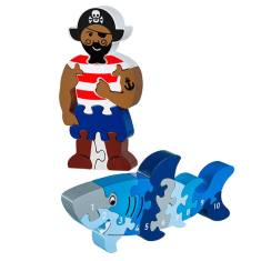 Pirate and shark jigsaw value pack