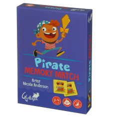 Pirate memory match game