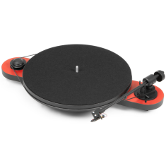 Elemental turntable in red