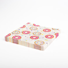 Donut napkins (2 packs x 20 napkins)