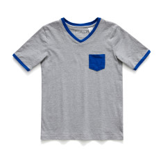 Boys Soft cotton pyjamas with Blue Patch Pocket