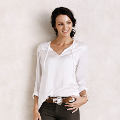 Florencia top in White