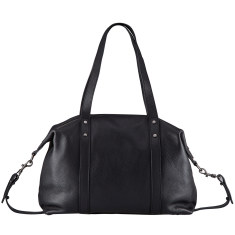Love and Lies leather bag in black