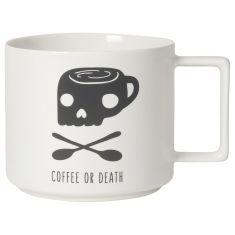 Designer Mug Coffee Or Death