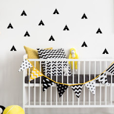 Teepees wall decal