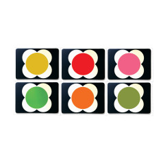 Orla Kiely flower spot placemats set of 6