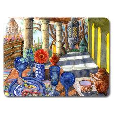Mexican Vista placemat & coaster set