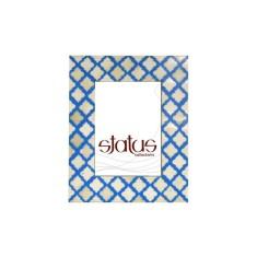 Light Blue Design Mogul Frame