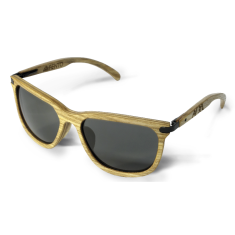 Fento wooden sunglasses in spectra ash black grey