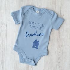Ready To Be Spoilt At Grandma's Babygrow