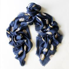 Eclipse Scarf in navy