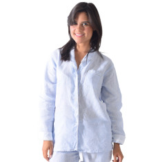 Bora Bora blues women's long pj shirt