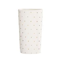 Gold spot gradual vase