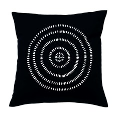 Dot cirlces handmade cushion cover