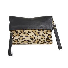 Poco rochas leopardo clutch