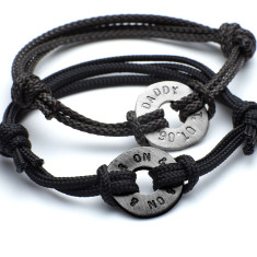 Men's personalised polo friendship bracelet