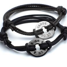 Men's personalised polo friendship bracelet
