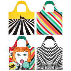 LOQI reuseable bag pop collection