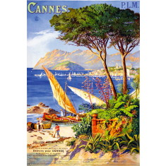 Cannes vintage wall tile