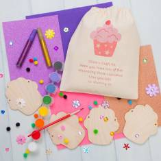 Personalised Make Your Own Cupcake Bunting Kit