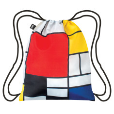 LOQI museum collection backpack piet mondrian