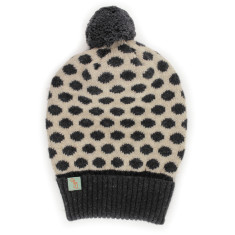 Dot now angora beanie