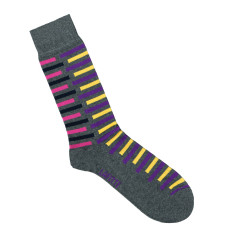 Lafitte broken stripe socks (various colours)  {note from seller: please make gender both}