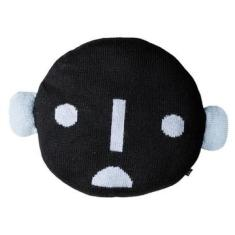 Face Pillow - Black
