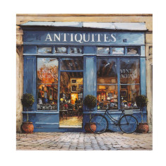 Antiquites poster print by Jeremy Barlow